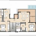 Type-1-East Facing-First Floor Plan