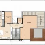 Type-1-East Facing-Second Floor Plan