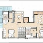 Type-1-West Facing-First Floor Plan