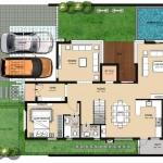 Type-1-West Facing-Ground Floor Plan
