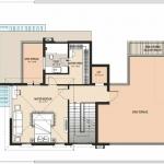 Type-1-West Facing-Second Floor Plan