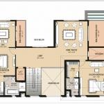 Type-2-East Facing-First Floor Plan